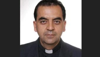Papa nombra obispo Tapachula Jaime Calderón Calderón