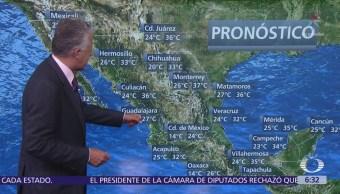 Despierta con Tiempo: Prevén lluvias en el Valle de México