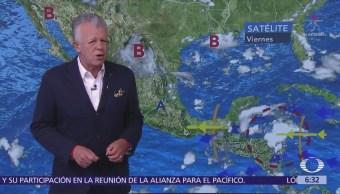 Prevén tormentas en 20 estados de Méxi