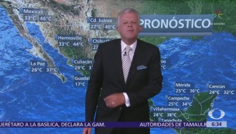 Despierta con Tiempo: Pronostica lluvias aisladas en el Valle de México