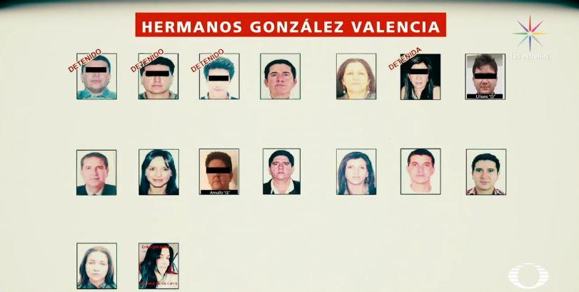 Detienen a dos hermanos González Valencia