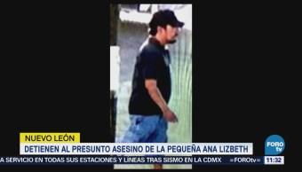 Detienen a Juan Fernando 'N', presunto homicida de Ana Lizbeth