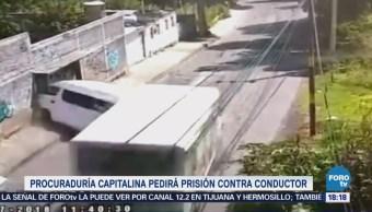 Chofer Embistió Camioneta Xochimilco Podría Quedar Libre