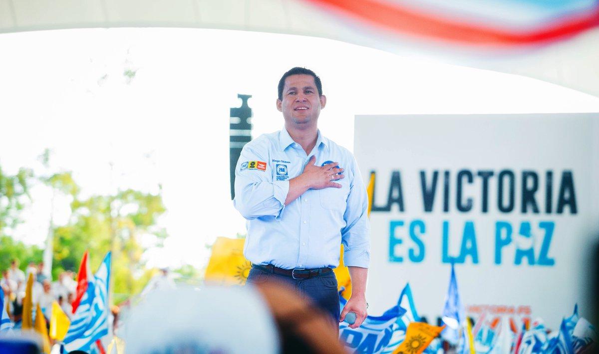 Cierra PREP en Guanajuato; Diego Sinhué Rodríguez logra 49.8