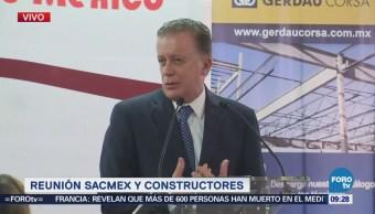 Director de Sacmex se reúne con la Cámara de la Construcción