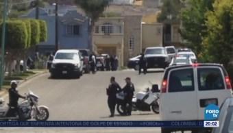 Dos muertos por balacera y toma de rehenes