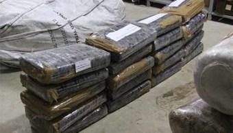 Aseguran 105 kilos de marihuana en Zacatecas; un detenido