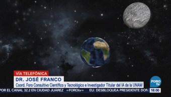 Eclipse lunar no se verá en México, aclara investigador