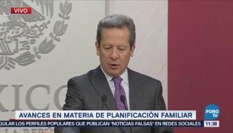 Eduardo Sánchez: Política de planificación familiar logra reducir el crecimiento demográfico