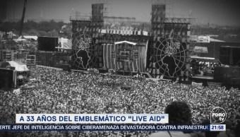 Efeméride En Una Hora 33 Años Live Aid