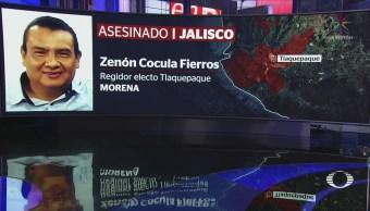 Ejecutan Regidor Electo Morena Tlaquepaque Jalisco
