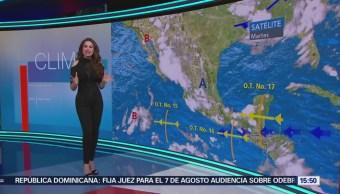 Clima A Las Tres Mayte Carranco Prevén Lluvias Fuertes