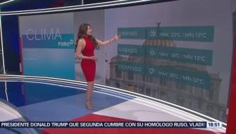 El Clima Con Mayte Carranco Las Noticias