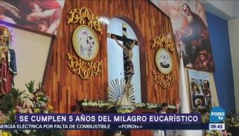 El milagro eucarístico de Guadalajara cumple 5 años