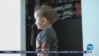 El niño José Ignacio requiere operación en un pie