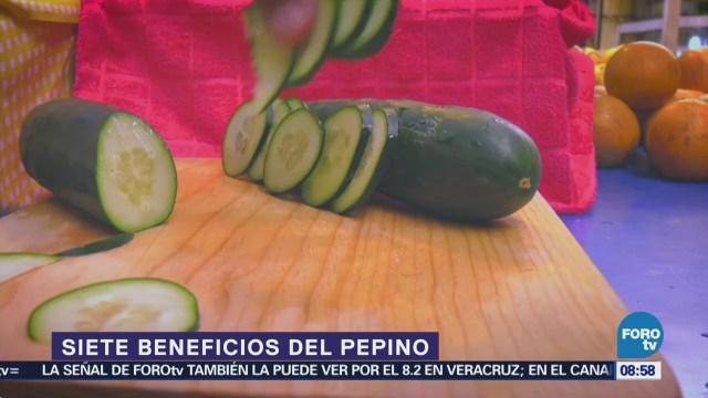 El pepino, una fruta con alto contenido de nutrientes