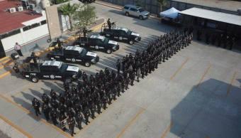 PF recibirá vehículos todo terreno paravigilar frontera EU