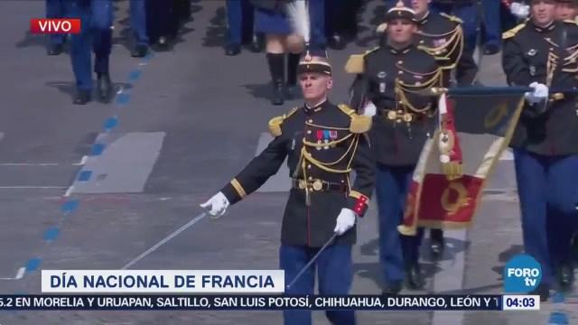 Emmanuel Macron Encabeza Desfile Día Bastilla