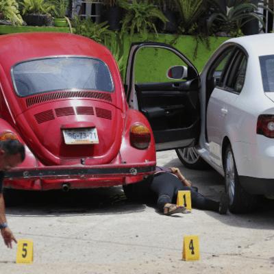 Homicidios en México alcanzan su mayor nivel en diez años, según INEGI