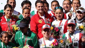Peña Nieto felicita a atletas mexicanos ganadores de oro en Finlandia