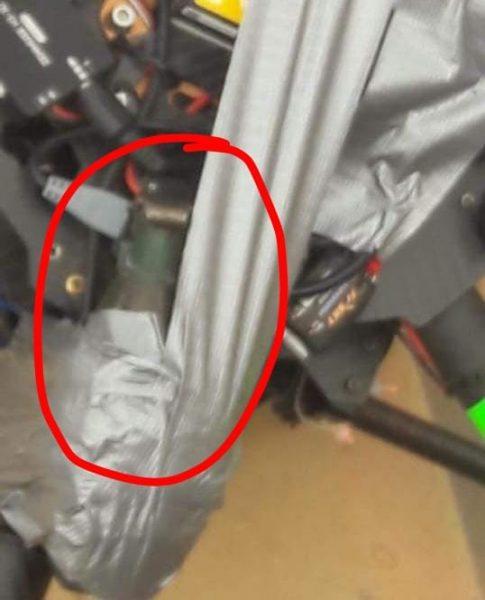 Envían dron con granadas, los cuales no alcanzaron a estallar, al secretario de Seguridad Pública de Baja California