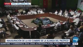 Epn Inaugura Xiii Cumbre Alianza Pacífico