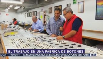 Expertos hablan de la fabricación de botones