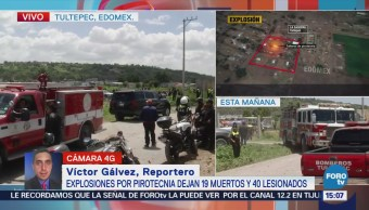 Explosiones Pirotecnia Dejan Muertos Tultepec Estado de México
