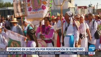 Extra Extra: Preparan operativo en la Basílica por peregrinación de Querétaro
