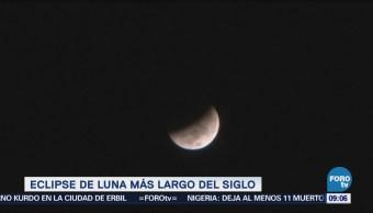 Extra Extra: Presencie el eclipse lunar más largo del siglo en julio