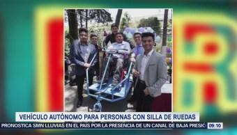 Extra Extra: Vehículo autónomo para personas con silla de ruedas