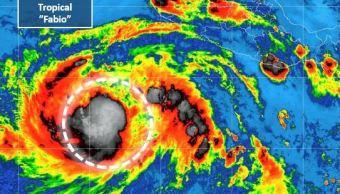 tormenta tropical fabio cobra fuerza frente costas jalisco y colima