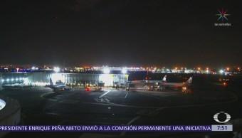 Falla tren de aterrizaje del vuelo 6402 de la compañía Iberia