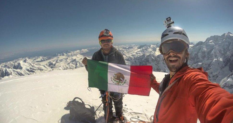 Fallecen alpinistas mexicanos Nevado Artesonra Perú