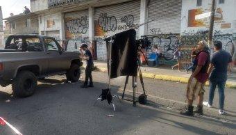 Filmación de serie causa pánico en Ciudad Nezahualcóyotl