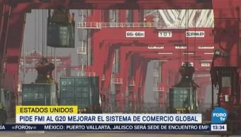 Fmi G20 Mejorar Sistema Comercio Global