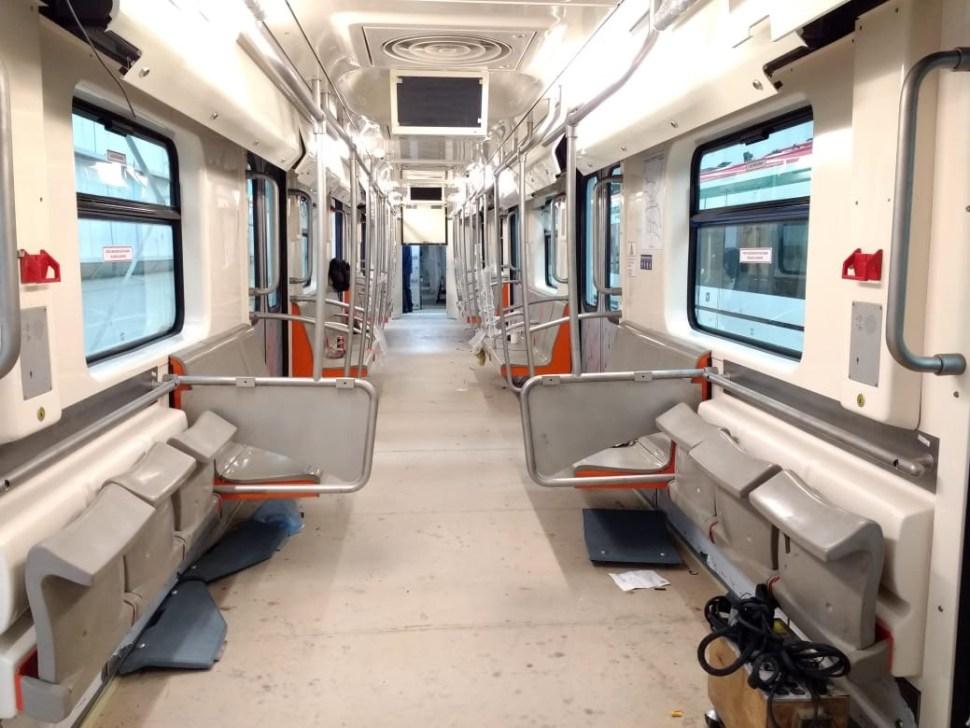 Nuevos trenes red del metro