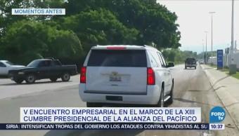 Fuerzas Armadas resguardan sede de Cumbre Alianza del Pacífico en Puerto Vallarta