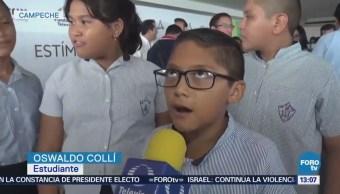 Fundación Televisa Reconoce Niños Jóvenes Campeche