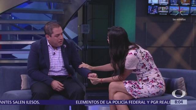 Gilberto Martínez viajó al Mundial para cumplir el sueño de su familia