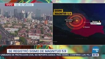Guerrero reporta saldo blanco luego de sismo con epicentro en Huajaupan
