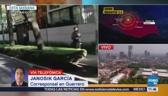 Guerrero revisan inmuebles para descartar daños por sismo