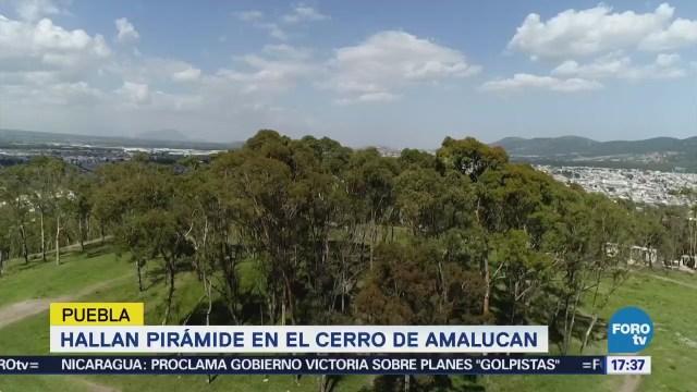 Hallan Gran Pirámide Puebla Similar Cholula
