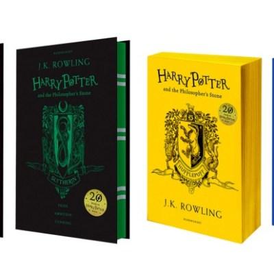 Lanzan ediciones especiales de 'Harry Potter y la piedra filosofal' por 20 aniversario