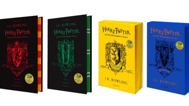 Lanzan ediciones especiales Harry Potter y piedra filosofal
