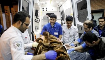 Sismo de magnitud 5.9 sacude Irán; hay al menos 26 heridos