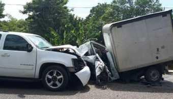 ssp tabasco accidente automovilistico muerto seguro