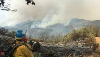 Incendio forestal Ferguson cumple 11 días fuera de control