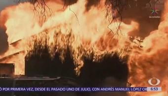 Incendios forestales de California están fuera de control