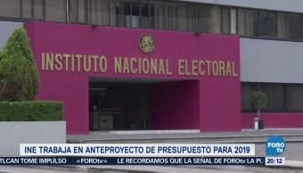 INE alista su proyecto de presupuesto para 2019